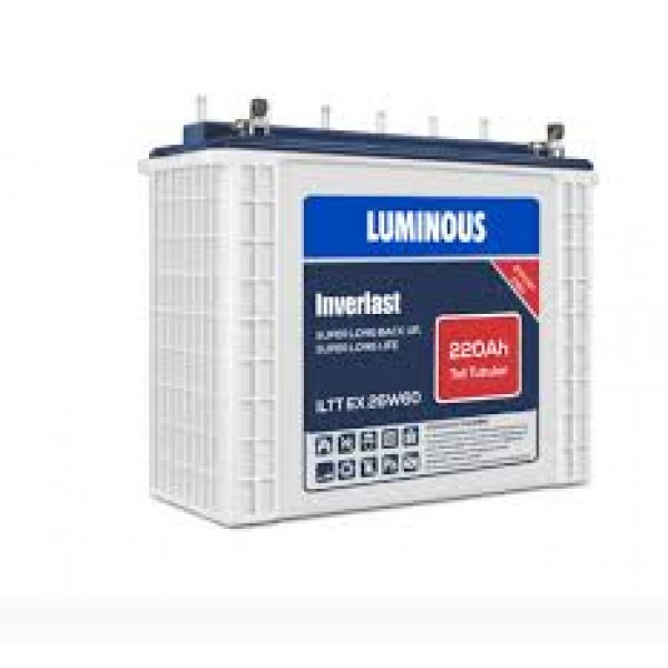 Luminous 220AH/12V Wet cell Tall Tubular Battery