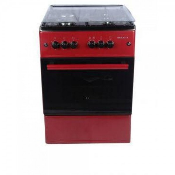 MAXI 6060 M4 RED 4 GAS BURNER COOKER
