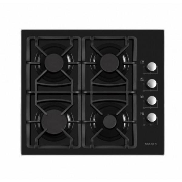 MAXI 6060 T-840 4 BURNER TABLE TOP GAS COOKER|AUTO IGNITION